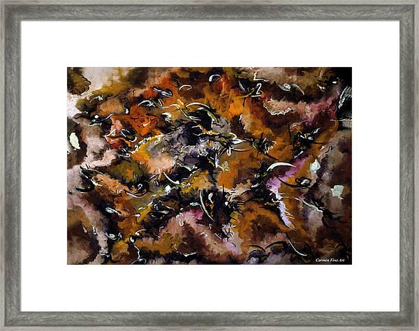 Autumnal Cut Framed Print