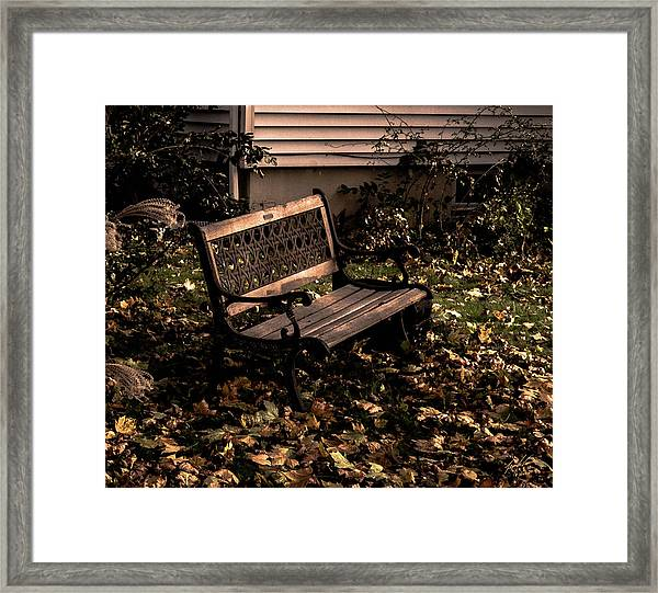 Autumnal Solace Framed Print