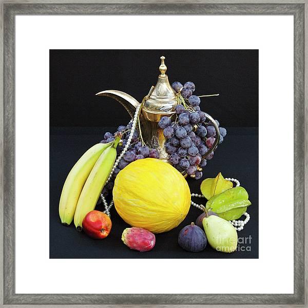 Symphony Of Forbidden Fruits Framed Print