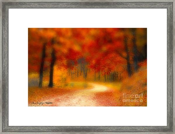 Autumn's Promise Framed Print