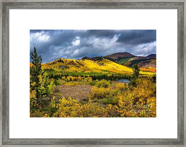 Autumn's Smile Framed Print