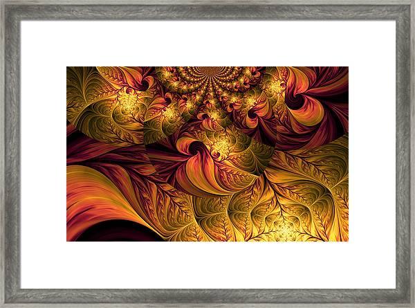 Autumns Winds Framed Print