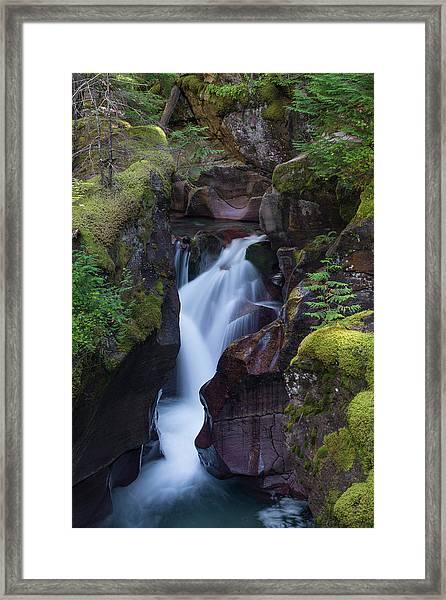 Avalanche Gorge 3 Framed Print