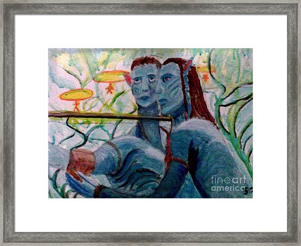 Avatar Painting Framed Print