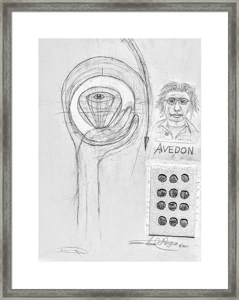 Avedon Master Of The Lens Framed Print