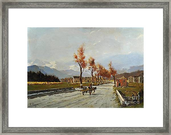 Avellino's Landscape  Framed Print