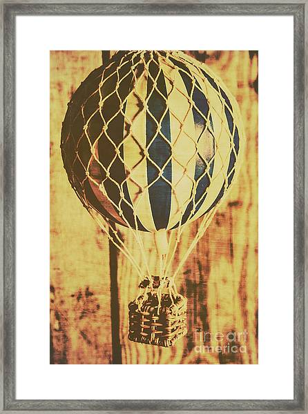 Aviation Nostalgia Framed Print