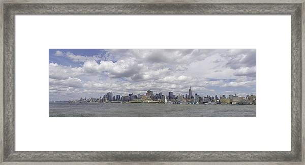 A View From New Jersey 1 Framed Print