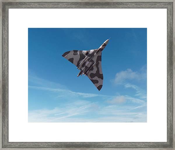 Avro Vulcan -1 Framed Print