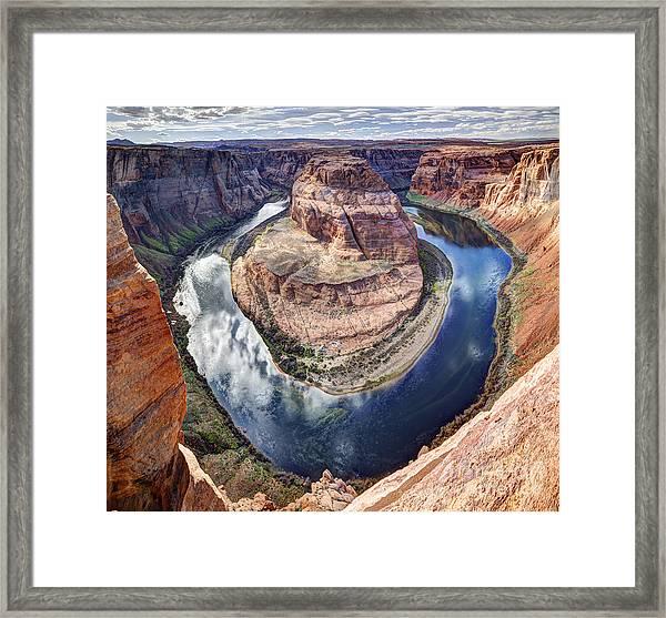 Awesome Amazing Horseshoe Bend Arizona Framed Print