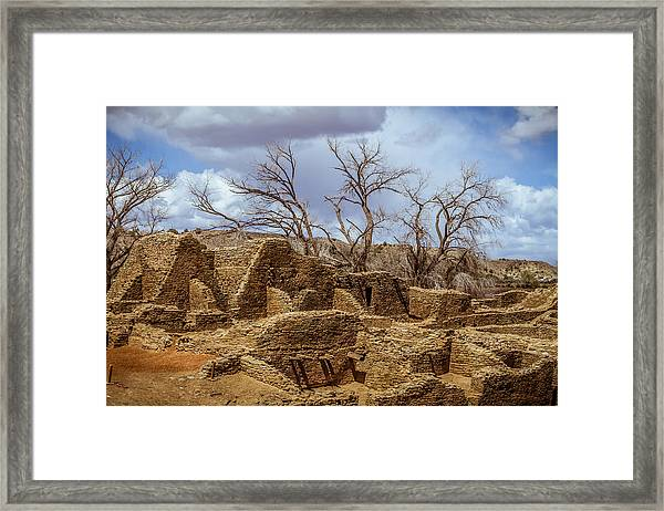 Aztec Ruins, New Mexico Framed Print