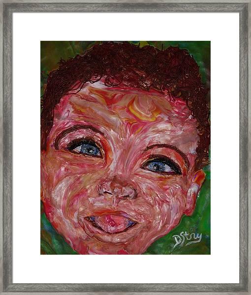 Azuriah Framed Print