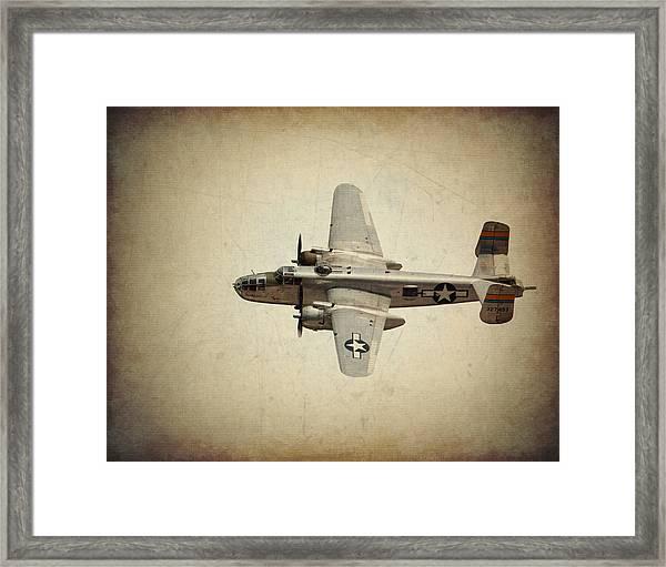 B-25j    Miss Mitchell Framed Print