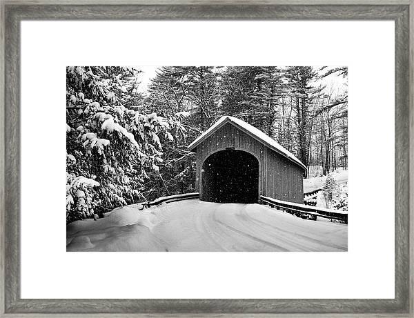 Babbs Bridge Framed Print