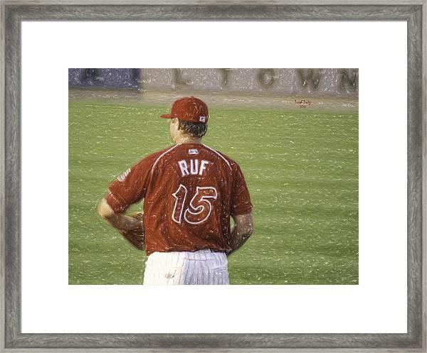 Babe Ruf Framed Print