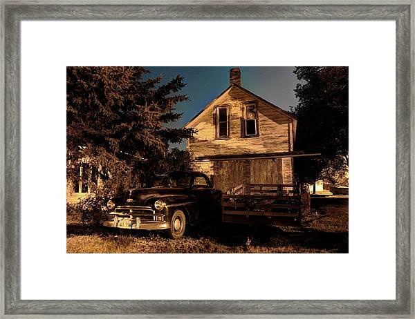 Back Home Framed Print