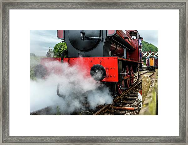 Framed Print featuring the photograph Back It Up by Nick Bywater
