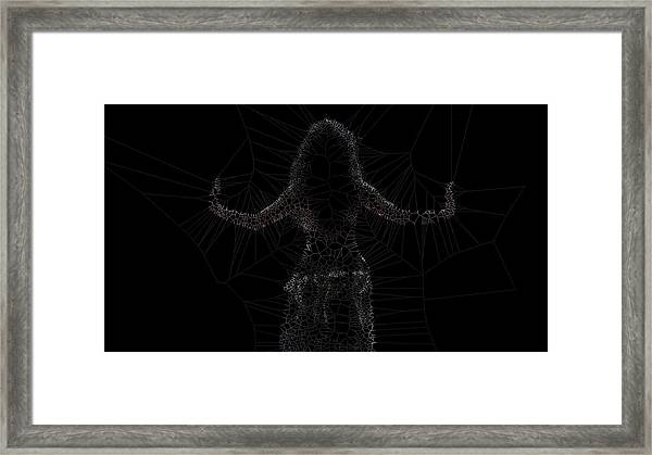 Back Framed Print