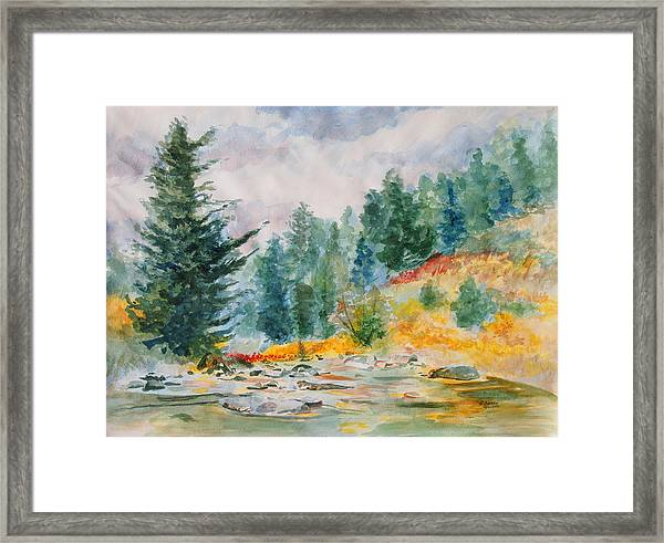 Afternoon In The Backcountry Framed Print