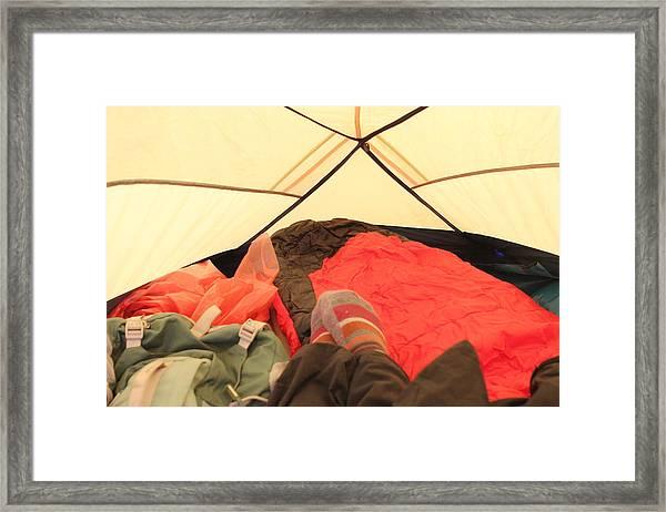 Backpacking Moments Framed Print