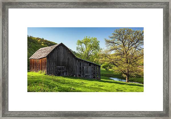 Bad Axe Barn Framed Print