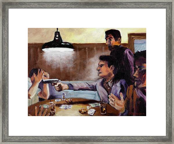 Bad Table Manners Framed Print