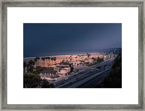 Bad Weather-2 Framed Print