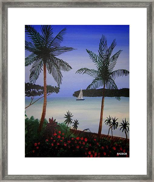 Badbay Framed Print