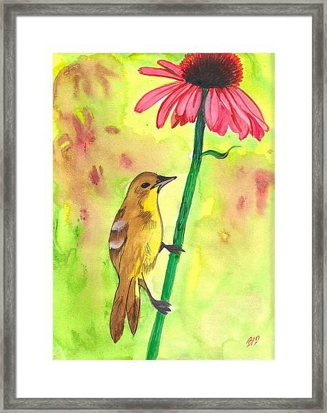 Badbird1 Framed Print