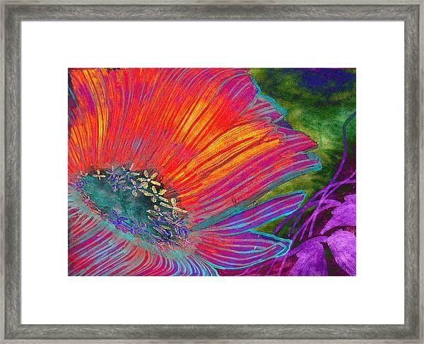 Badflower Framed Print