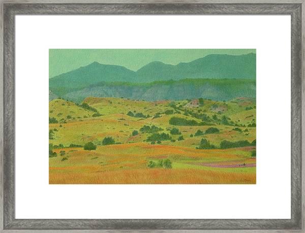 Badlands Grandeur Framed Print