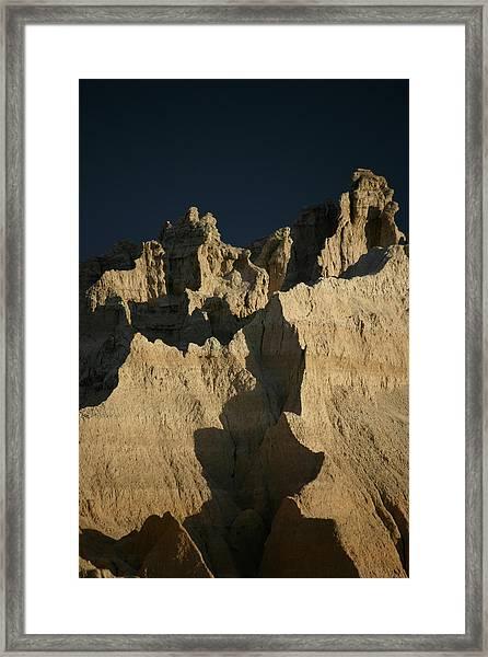 Badlands National Park II Framed Print