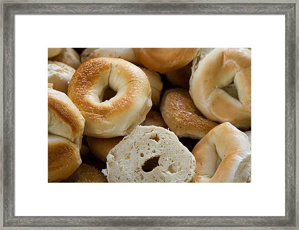 Bagels 1 Framed Print