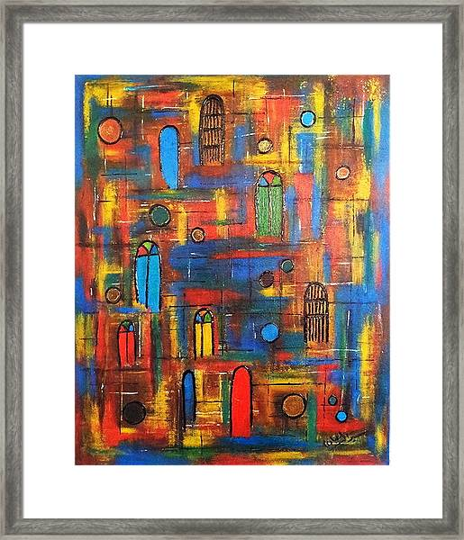 Baghdad, War And Peace Framed Print by Siran Ajil