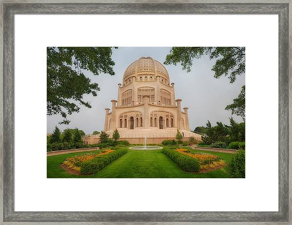 Baha'i Temple - Wilmette - Illinois Framed Print