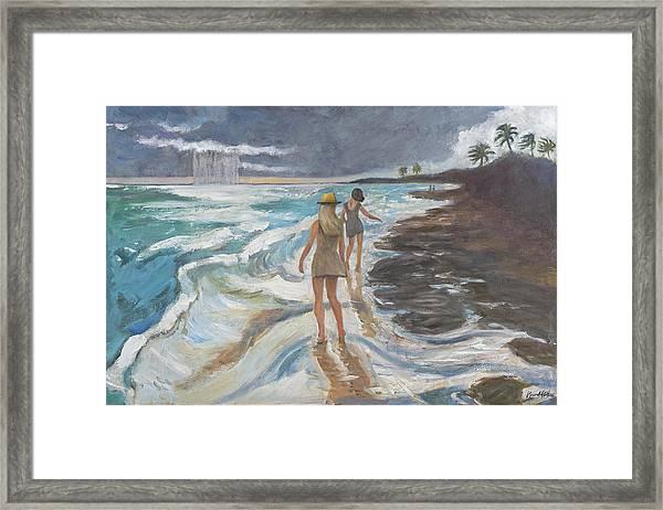 Bahia Honda Beach Framed Print