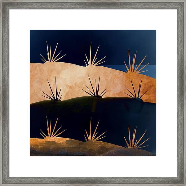 Baja Landscape Number 1 Square Framed Print