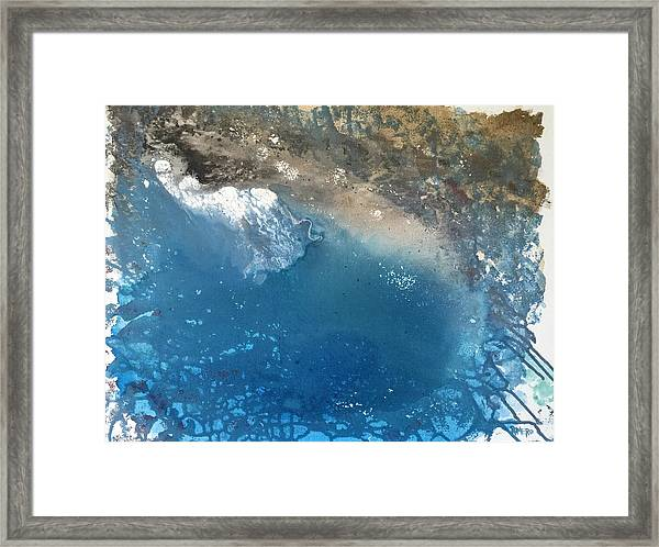 Framed Print featuring the painting Bajamar by Antonio Romero