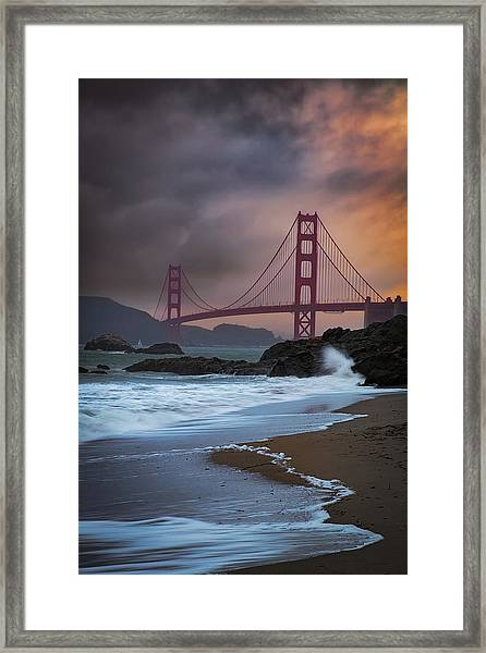 Baker's Beach Framed Print