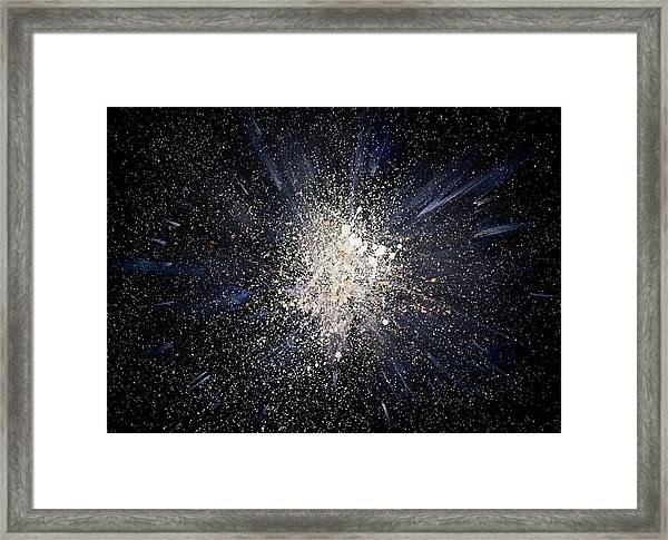 Framed Print featuring the painting Balance by Michael Lucarelli