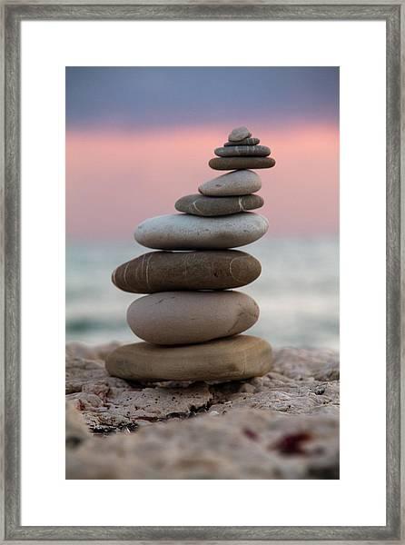 Balance Framed Print