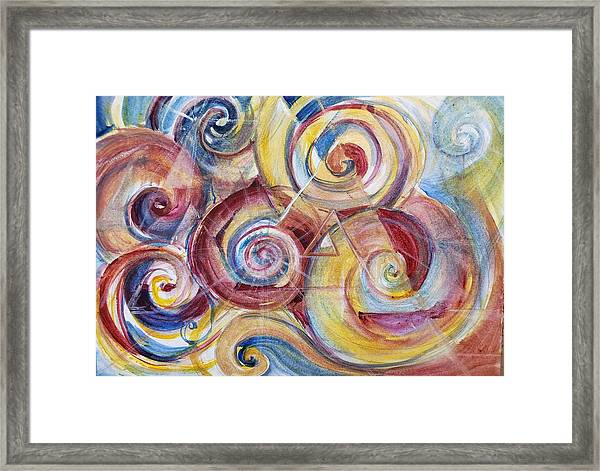 Balanced Awakening Framed Print