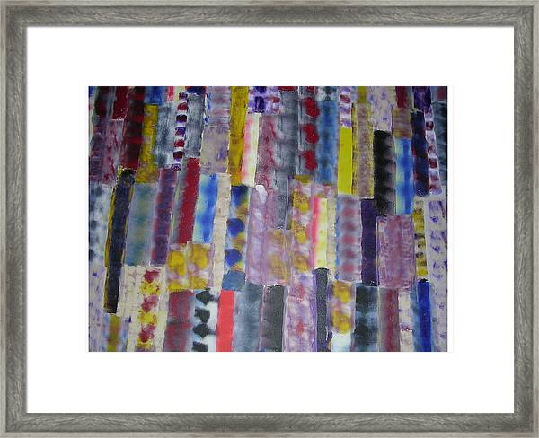 Balanced Lights Framed Print by Russell Simmons