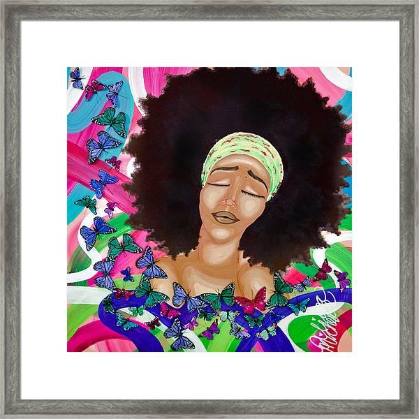 Balinda Framed Print
