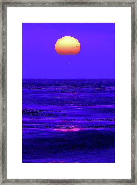 Ball Of Fire Framed Print