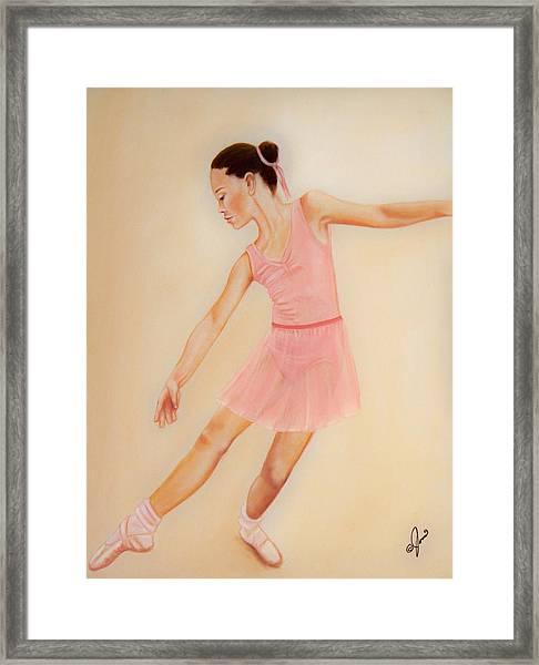 Ballet Practice Framed Print