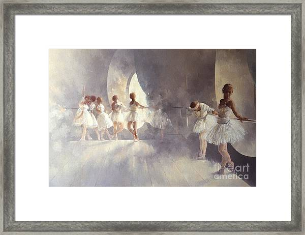 Ballet Studio  Framed Print