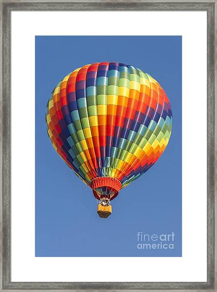 Ballooning In Color Framed Print