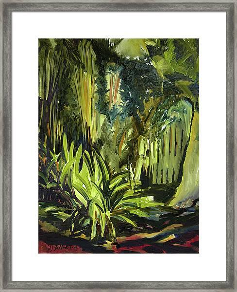 Bamboo Garden I Framed Print