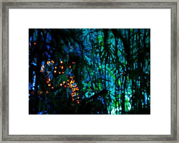 Bamboo Riot Framed Print